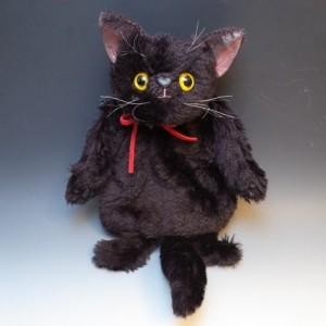 水野尾裕子黒猫ちゃんカイロ袋